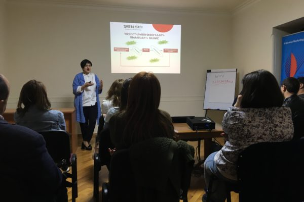 «80 ժամ մարքեթինգի շուրջ» թրեյնինգային ծրագրի դասընթացներ
